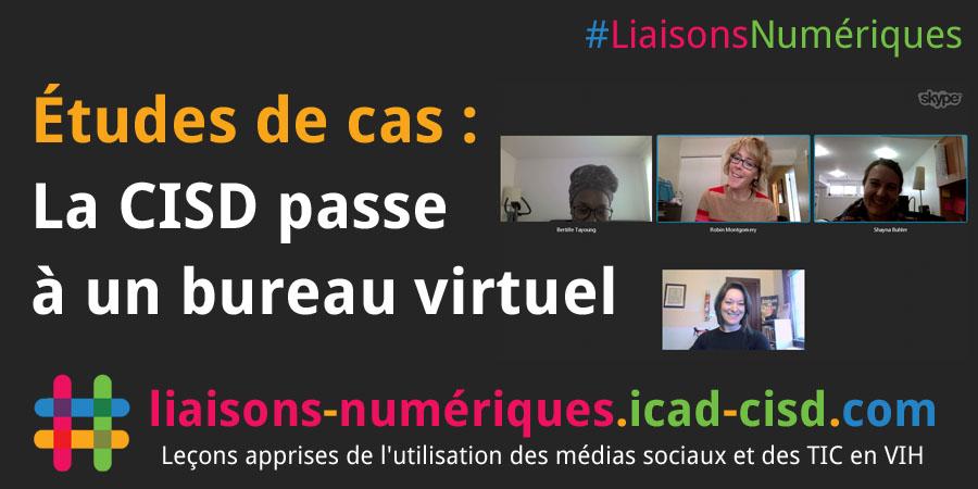 Graphique Twitter : La CISD passe à un bureau virtuel