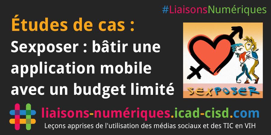Graphique Twitter : Sexposer : bâtir une application mobile avec un budget limité
