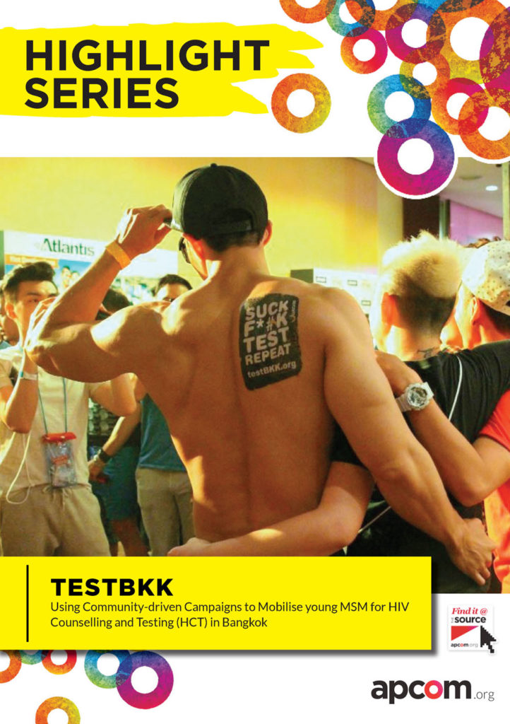 A Highlight of TestBKK's First Year ImplementationThe highlight series summarizes the behind-the-scene of the inventive HIV testing campaign from the scratch, utilising the power of community.